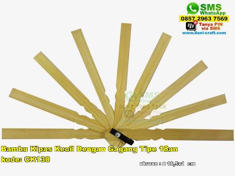 Bambu Kipas Kecil Dengan Gagang Tipe 18an