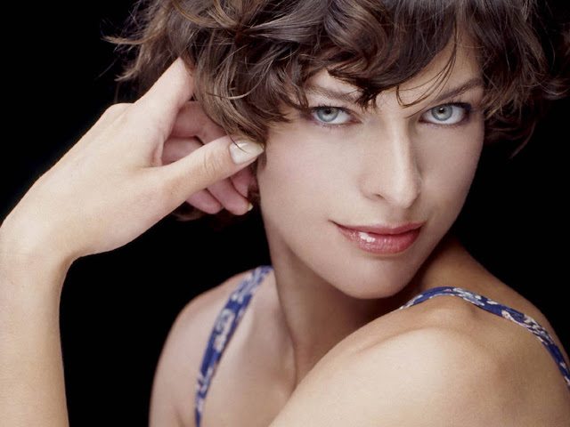 Mila Jovovich Seen On www.coolpicturegallery.us