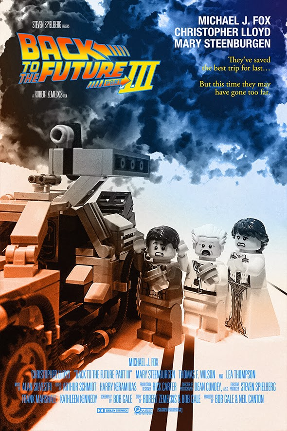 Back To The Future Part 3 Poster