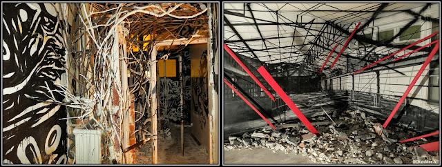 Tour Paris 13 installation hangar rouge Katre street art France