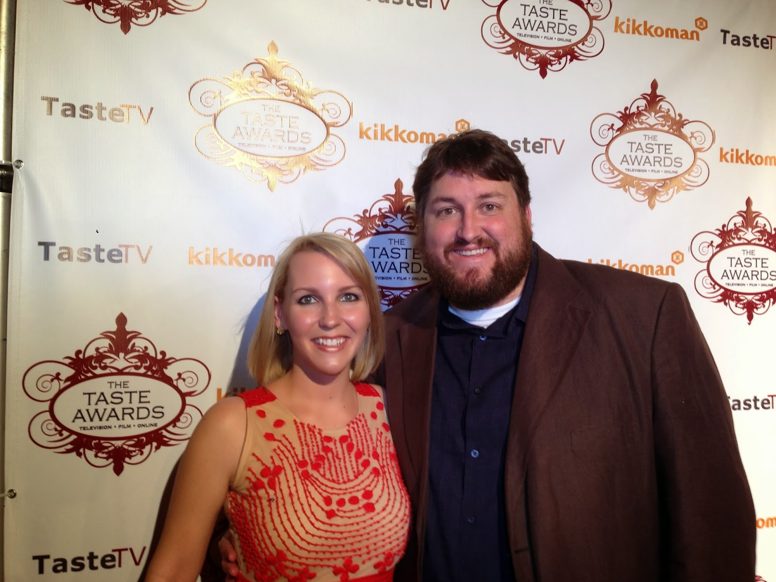 Michelle Farmer-Purcell with Jay Ducote on the Red Carpet