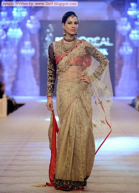 Nickie Nina Bridal Suits at PFDC Bridal Week -2014