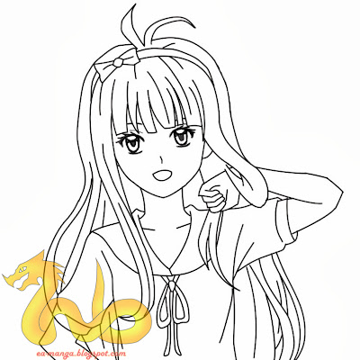 How To Draw Kawaii Manga Girl 11
