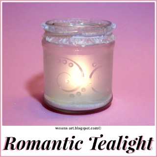 Romantic Tealight by Wesens Art