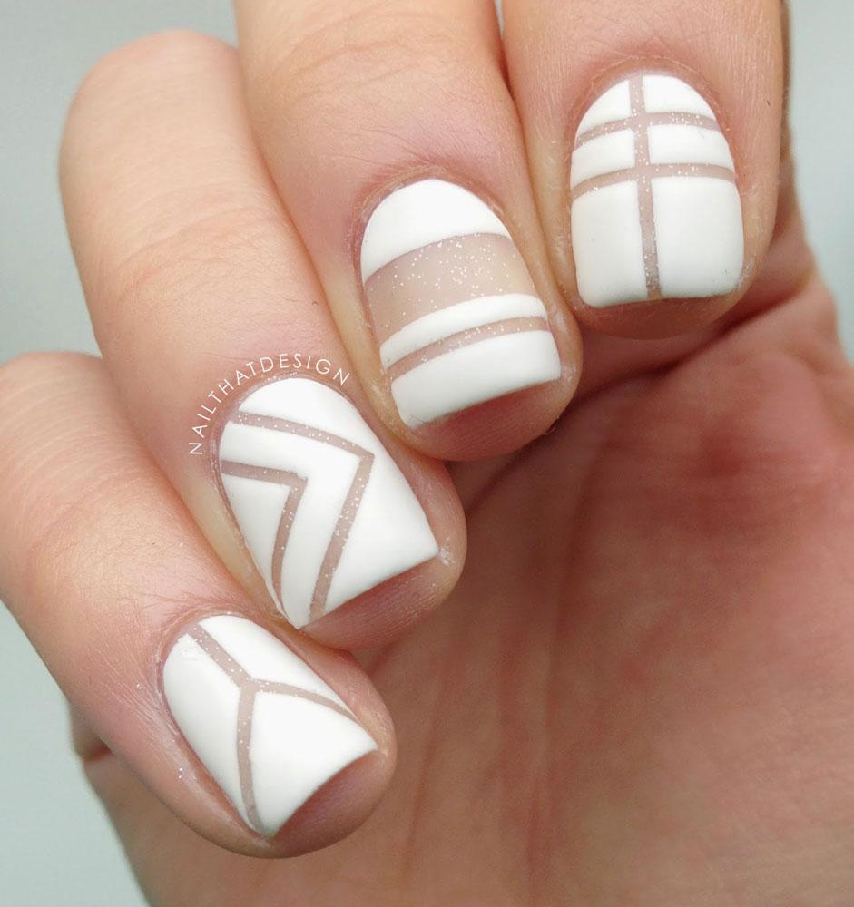 Trend Watch : Negative Space Nails - Mira La Belle