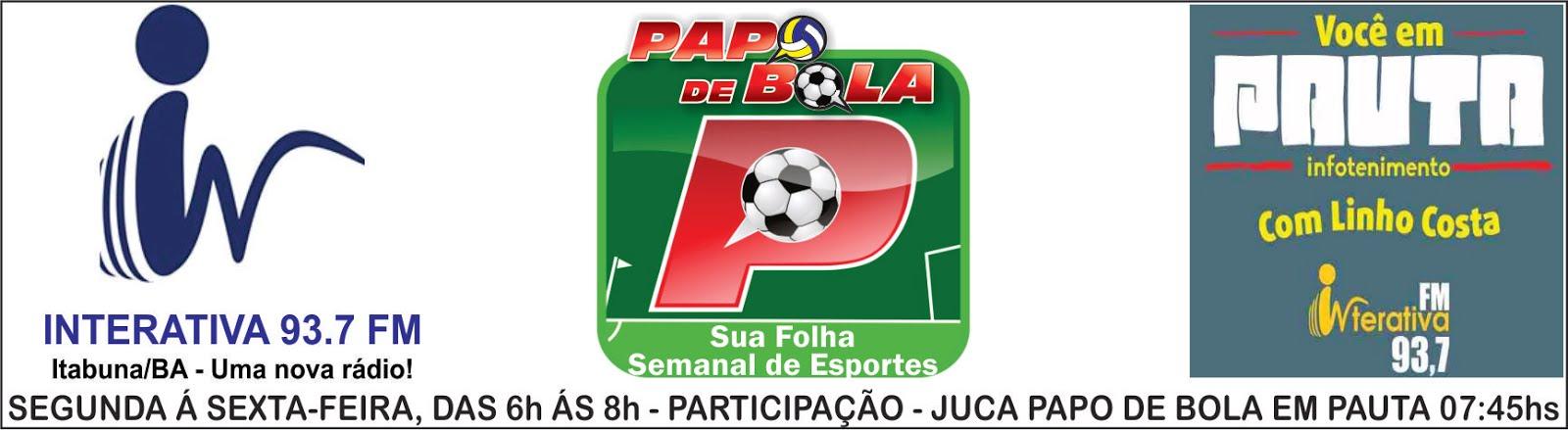 CLICK E OUÇA PAPO DE BOLA NA 93,7