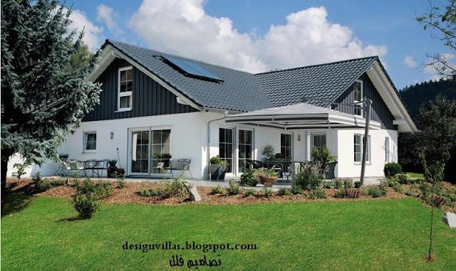 مخططات منازل امريكية تصاميم طراز ريفي امريكي مخططات هندسية طابق واحد منازل