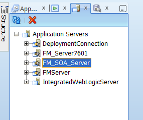 deploying a jdeveloper soa application to Faq #3 - how to deploy an adf application on a standalone weblogic server directly from jdeveloper.