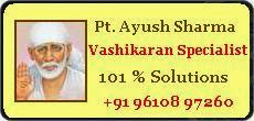 pandit ayush sharma +91-9610897260