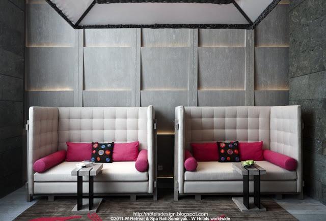 Les plus beaux hotels design du monde h tel w retreat - Les plus beaux lits ...