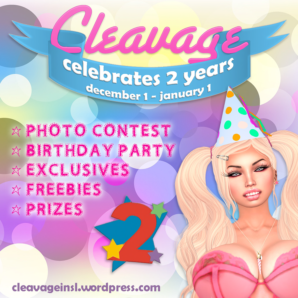 Cleavage Celebrates 2 Years