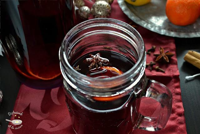 Vino especiado caliente (Gluhwein)