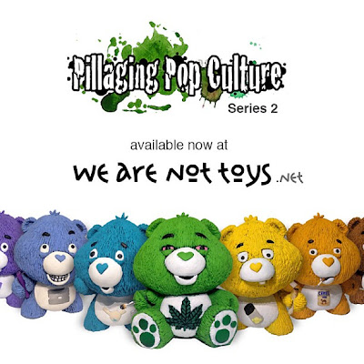 """Pillaging Pop Culture"" Series 2: Custom Care Bears Blind Box Series by Task One"