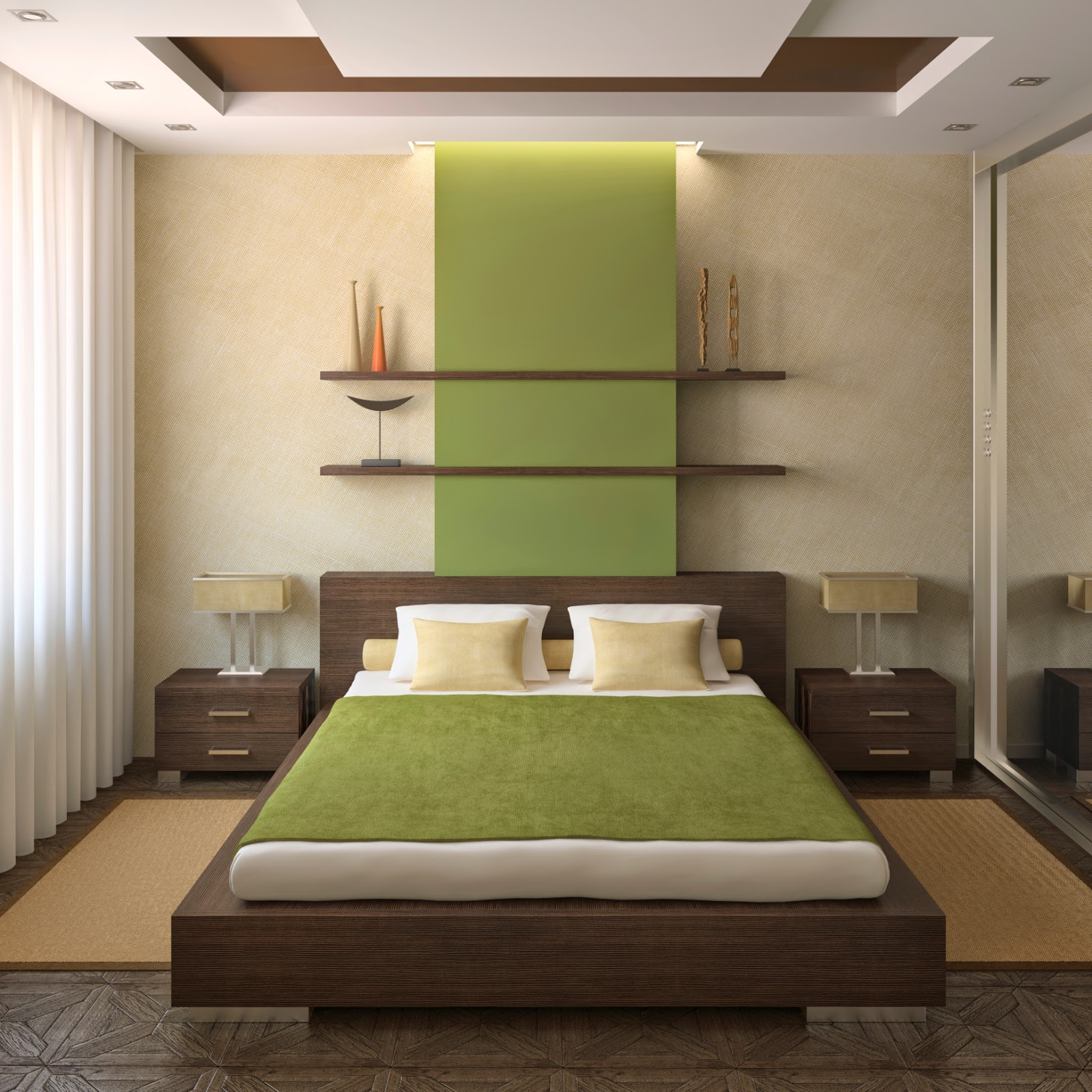 Modern Platform Beds With Functional