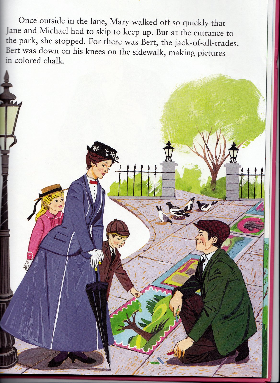 Vintage Books For The Very Young Mary Poppins