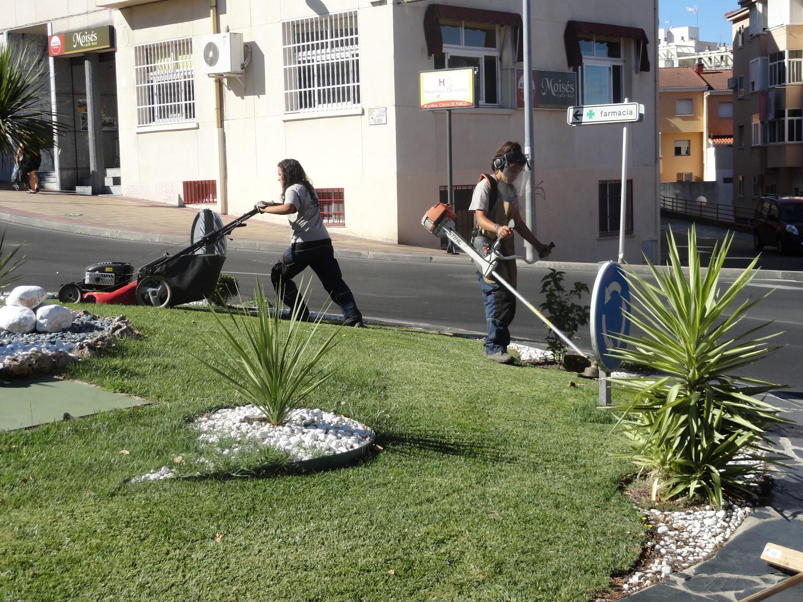 Escuela taller vicente paredes x trabajos de la - Trabajo de jardineria en madrid ...
