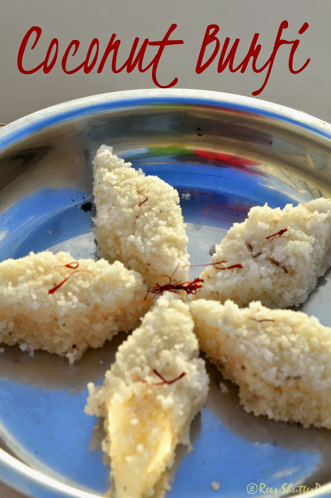how to make thenga burfi/ coconut burfi at home