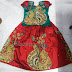 Kalamkari Work Kids Designer Skirt