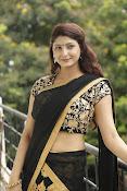 Sagarika glamorous photos in saree-thumbnail-10