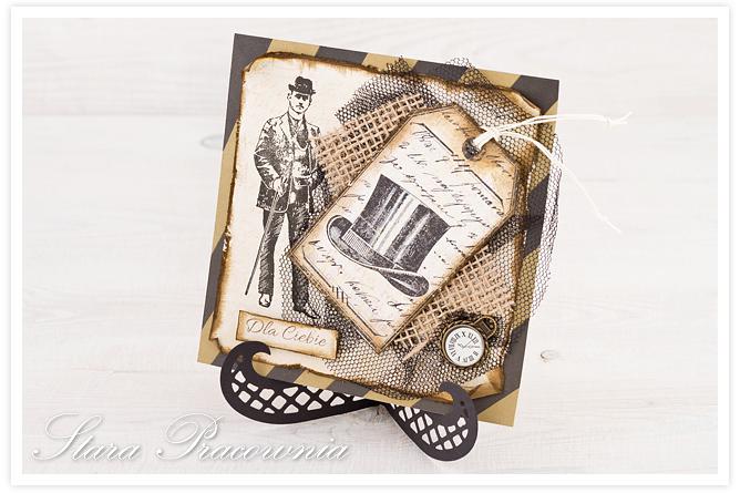 męska kartka, kartka dla niego, kartki kartka ręcznie robione, cardmaking