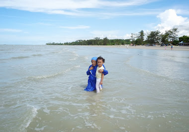 Di sisi lain pantai Pasir Padi,Pangkalpinang.
