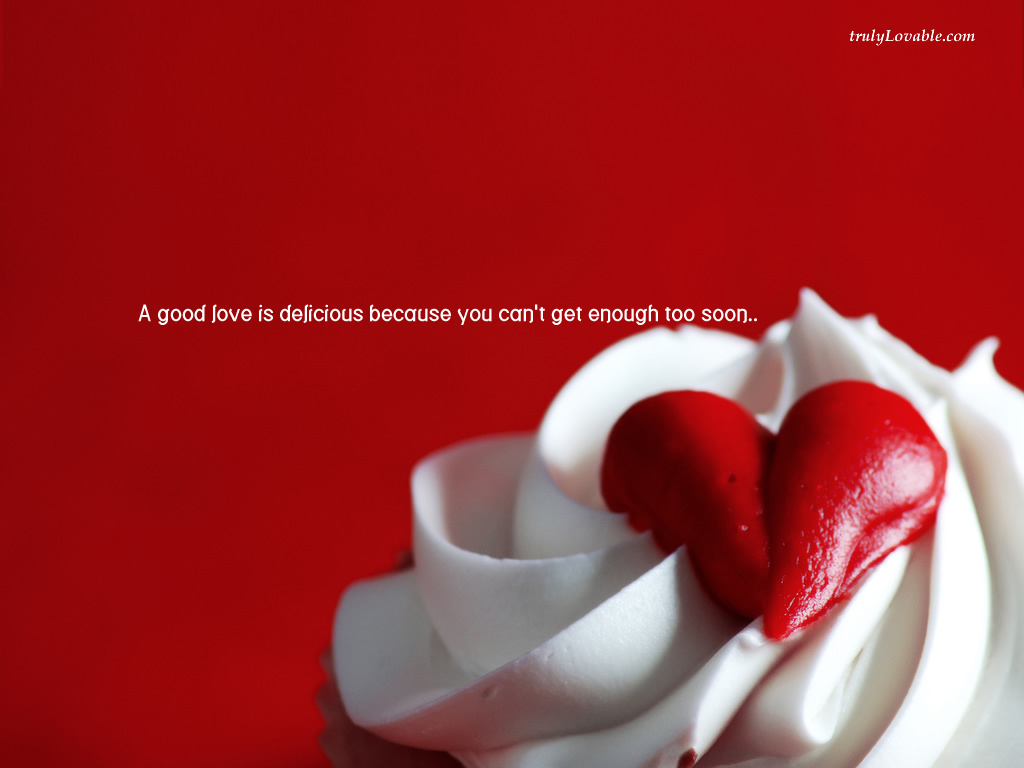 Love Quotes Wallpaper For Fb : cUTE AND DELIcIOUS !: DELIcIOUS IN RED