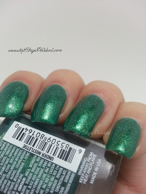 JulieG Nail Color - Under Mistletoe