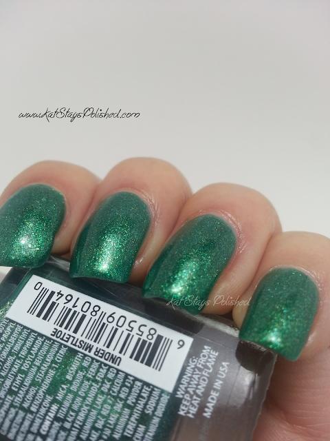 JulieG Nail Color - Under Mistletoe