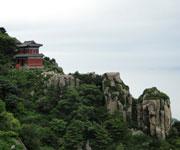 The sacred Mount Taishan