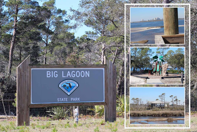Big Lagoon State Park located near Perdido Key, FL