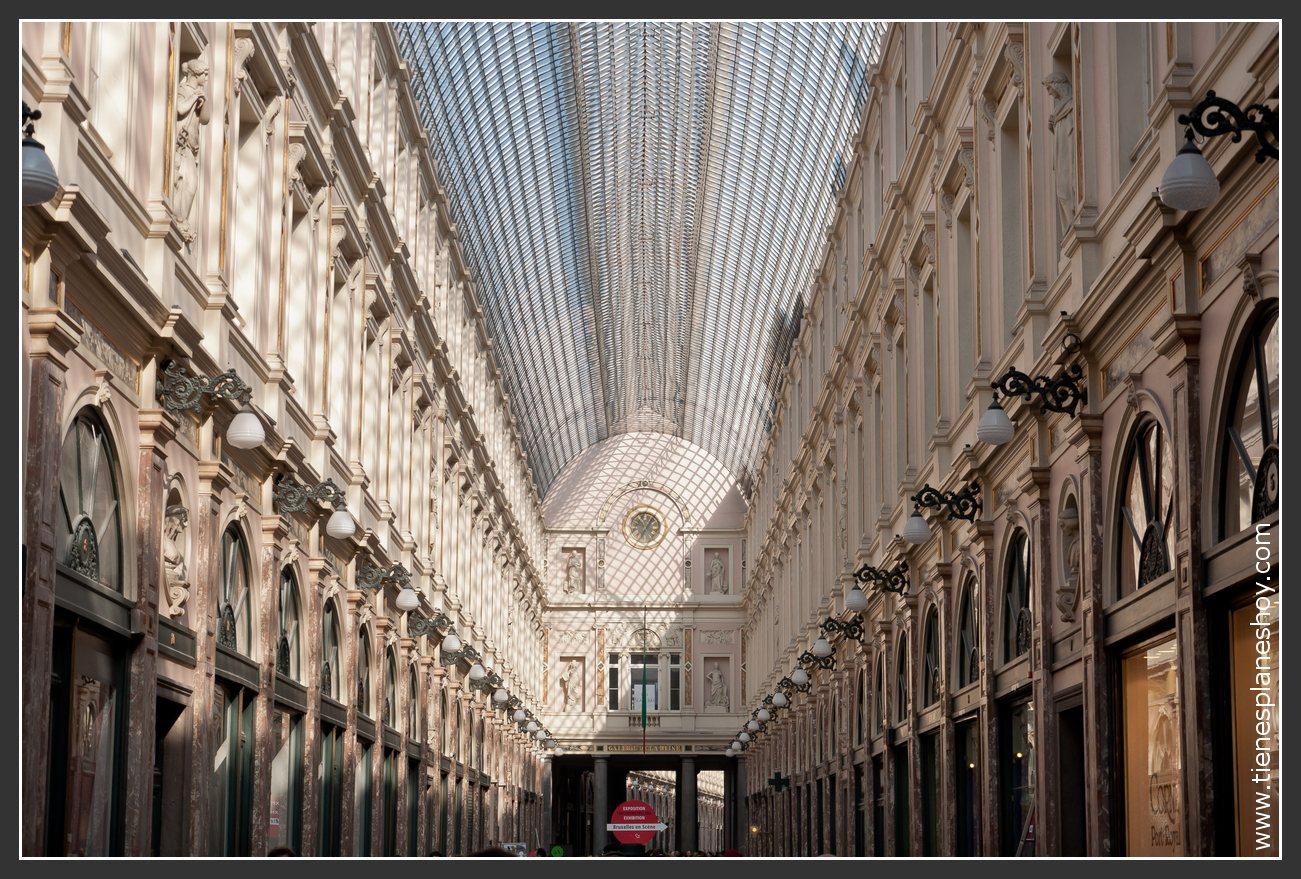 Galeries Reales St Hubert Bruselas