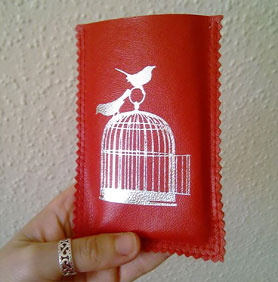 Little Red Designs Birdcage iPhone Cosy