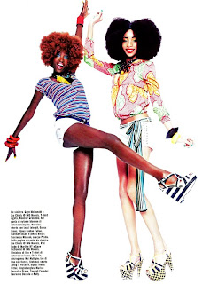 >Black Beauties for Vogue Italia