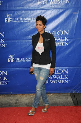 Halle Berry Charity Cute