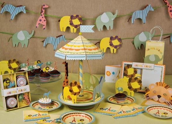Elige la decoración para el baby shower