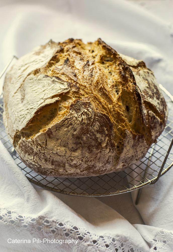 Pane senza impasto