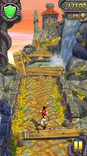 صورة من لعبة Temple run 2