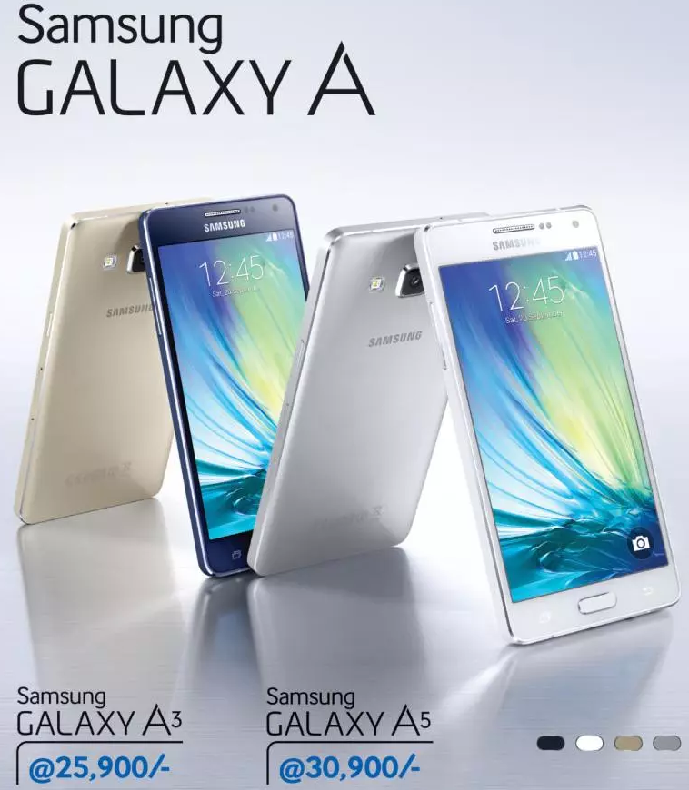 Samsung Galaxy A vs S series phones comparison
