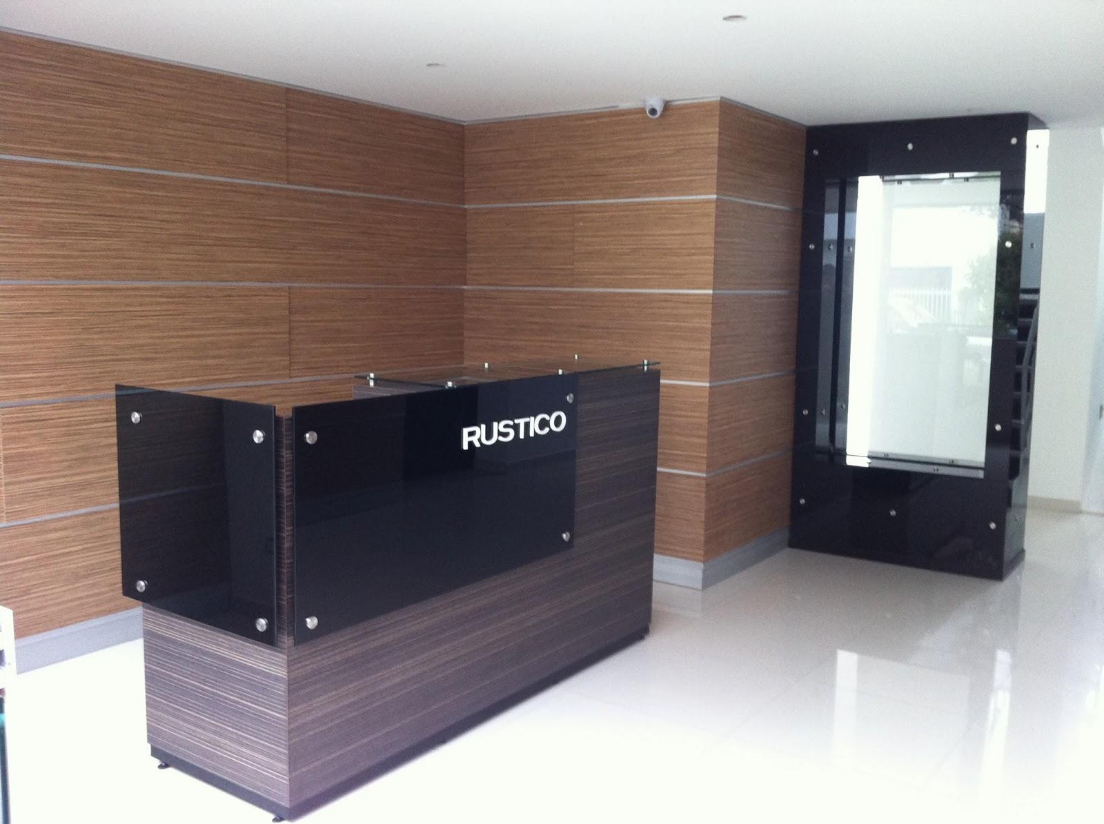 Muebles Para Recepcion De Edificios