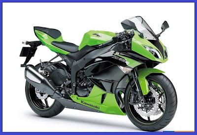 Kawasaki Ninja ZX-6R - Green - Gambar Foto Modifikasi Motor Terbaru.jpg