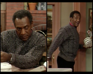 Cosby Show 80s sitcom fashion blog Huxtable Hotness Cliff Bill Cosby