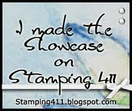 I made the Showcase on Stamping 411