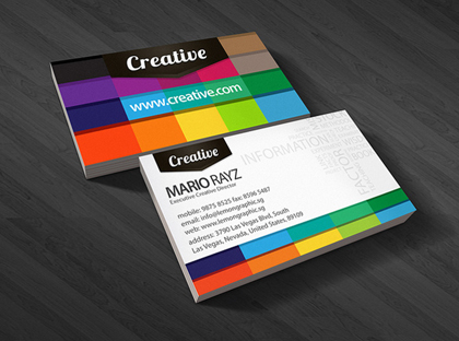 7) Business Card