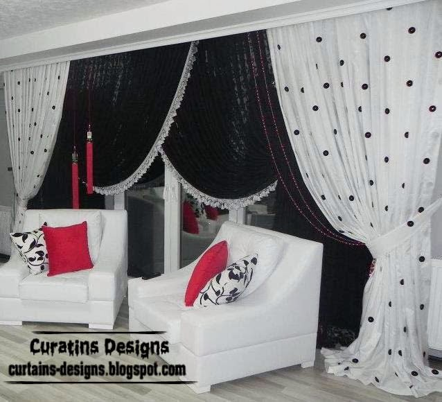 Black And White Curtains Top 10 Designs Of Black And White Curtains