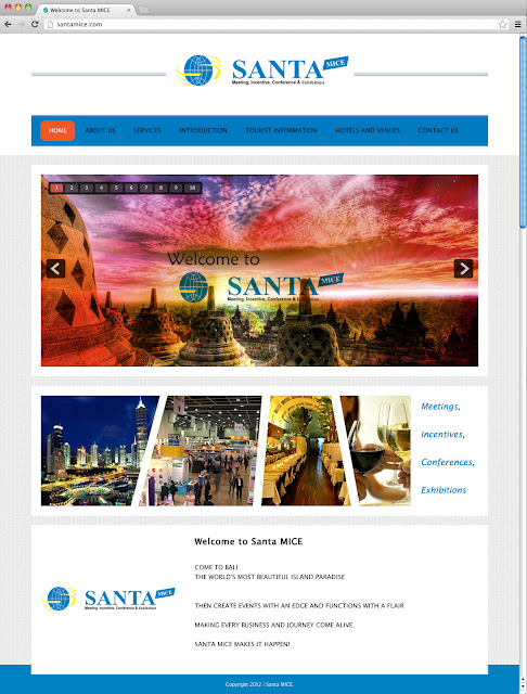 Santa MICE, Meetings, Incentives, Conferences, Exhibition