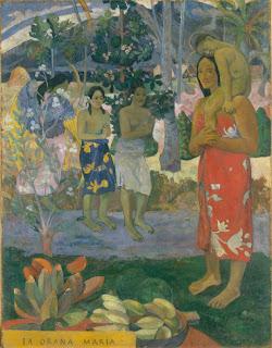 Ia Orana Maria by Paul Gauguin at the Metropolitan Museum of Art