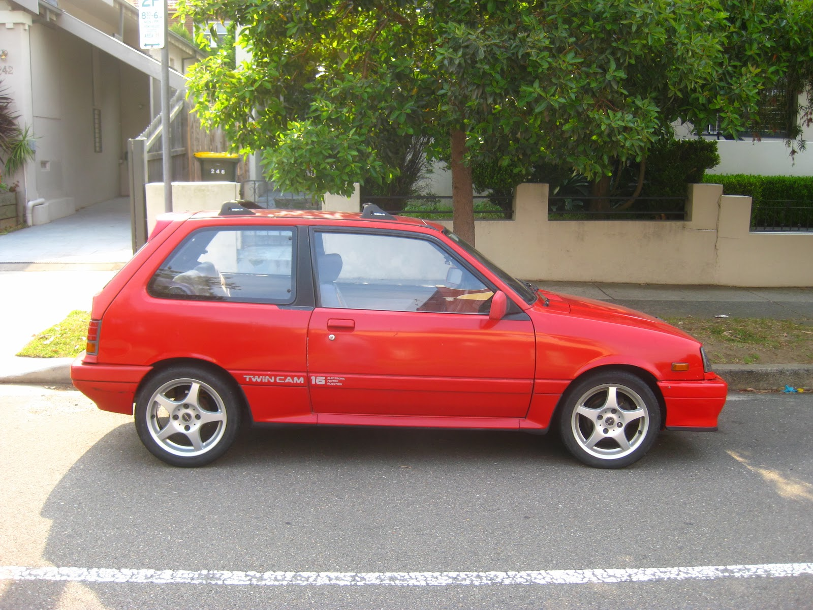 Aussie Old Parked Cars 1986 Suzuki Swift 1 3 Gti