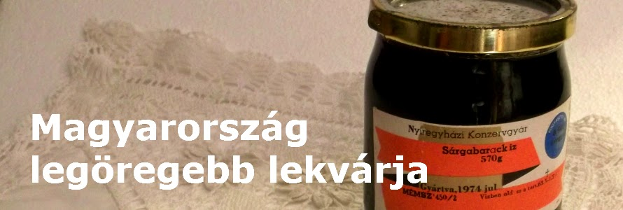 a legöregebb lekvár Magyarországon