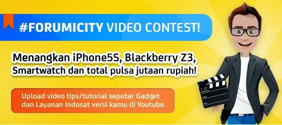 Kontes Video Berhadiah Utama iPhone 5s dan Gadget Keren lainnya