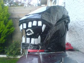 alien costume head